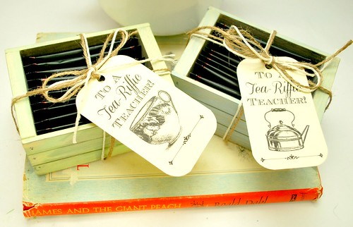 Tea-Riffic Teacher Printable Tags and Gift Idea - The Silly Pearl
