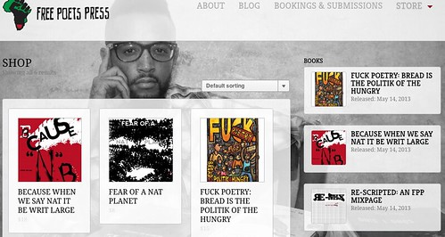 Free Poet's Press website