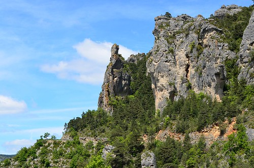 Rocks over the Gorges du Tarn