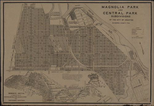 Magnolia Park and Central Park subdivisions