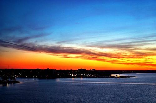 sky cloud sunrise waterfront belleville bayofquinte