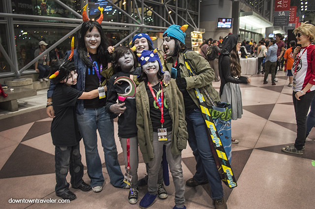 NY Comic Con Kids Costumes Homestuck