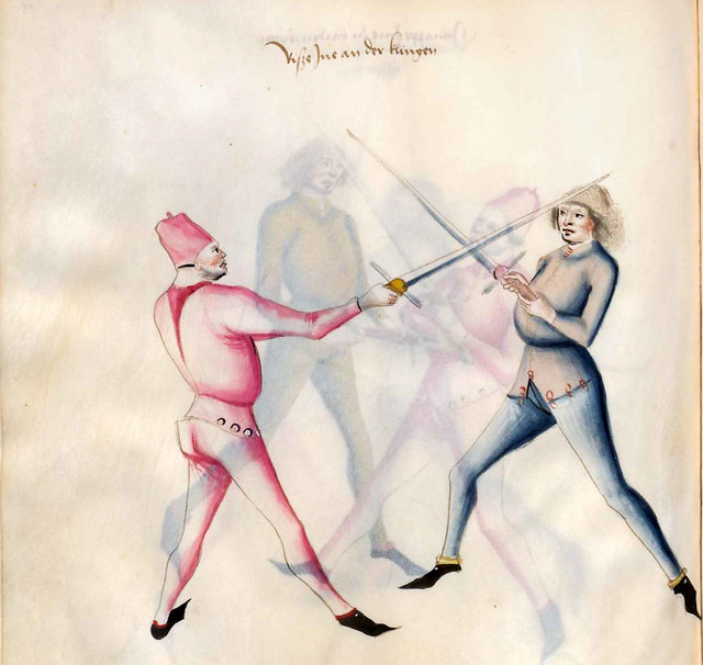 013-Kal Paulus Fechtbuch gewidmet dem Pfalzgrafen Ludwig- BSB Cgm 1507- Bayerische StaatsBibliotehek