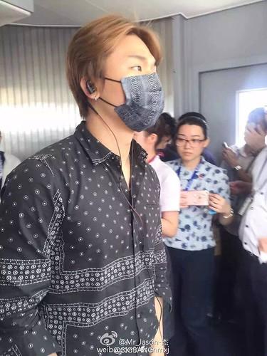 BIGBANG Arrival Nanning (1)