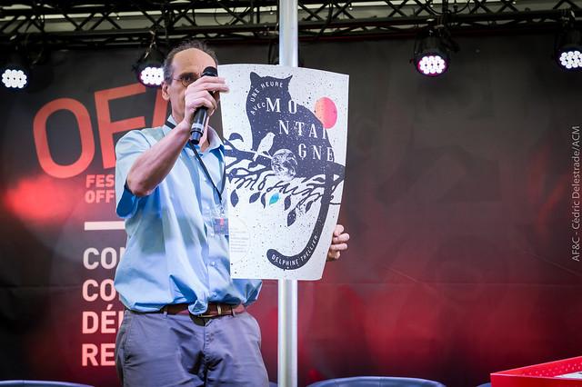 Remise des prix du concours des plus belles affiches de la BNF-Maison Jean Vilar en partenariat avec AF&C et la Ville d'Avignon au #OFF16