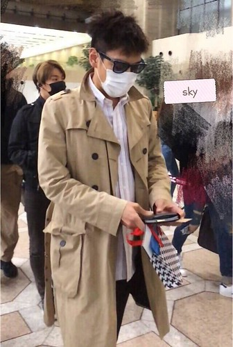 Big Bang - Gimpo Airport - 05jun2015 - TOP - Sky - 01