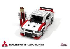 Mitsubishi Lancer EVO VI - Zero Fighter Edition