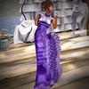 Heth Haute Couture- The Glam Collection- Tiffany Gown- Purple