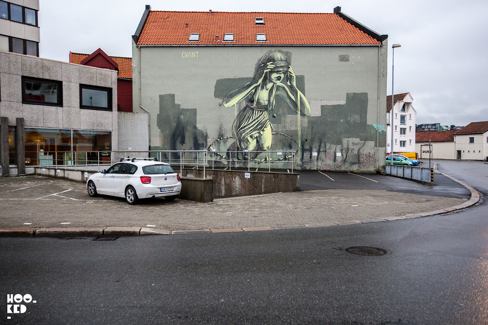 Faith47 Mural in Stavanger, Norway. Photo ©Mark Rigney / Hookedblog