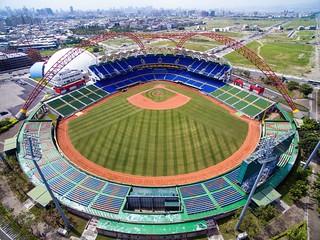 台中洲際棒球場~空拍~  Taichung International Baseball Stadium