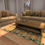 WL Living Room 3D Models