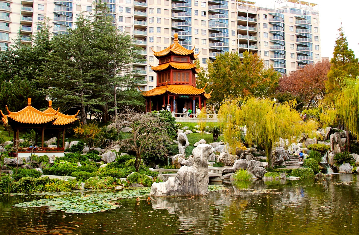 The Chinese Garden of Friendship, Sydney, Australia. Credit Wyncliffe