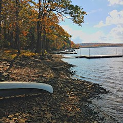 Deep Creek Lake, Western Maryland. #autumnglory