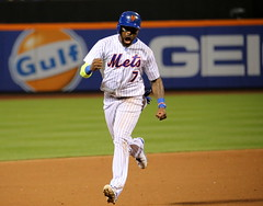 Jose Reyes rounds the bases on Asdrubal Cabrera's walk-off homer in the 11th inning.