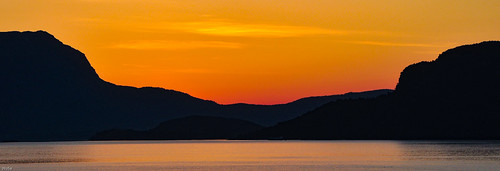 hordaland norwegen no sun down sundown sunset sonnenuntergang norge norway n orange red silhouette ngc