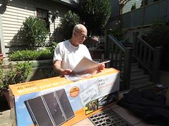 Harbor Freight Solar Kit (4)