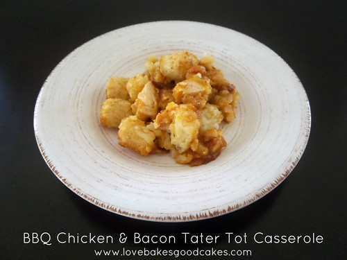 BBQ Chicken & Bacon Tater Tot Casserole