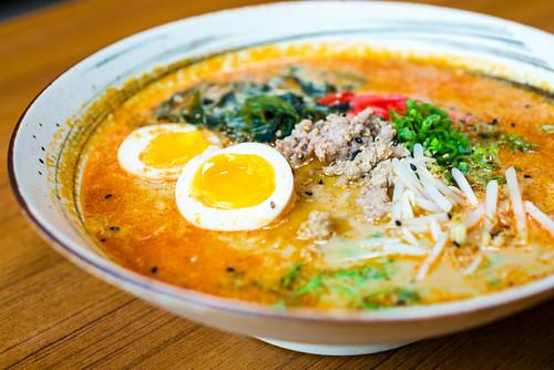 Spicy Soy Ramen - Kata Robata Sushi & Grill