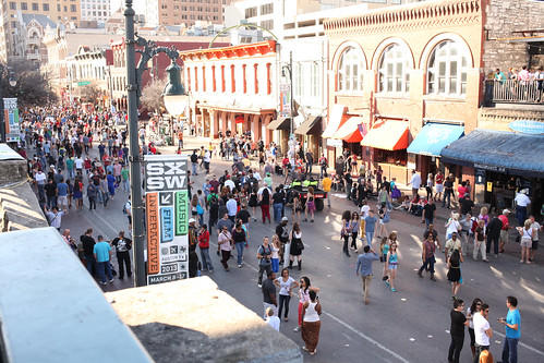 SXSW Street Scene