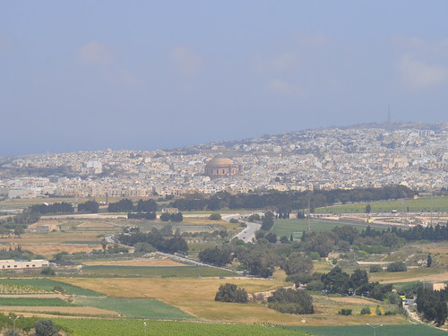 Mosta dome, seen from Mdina