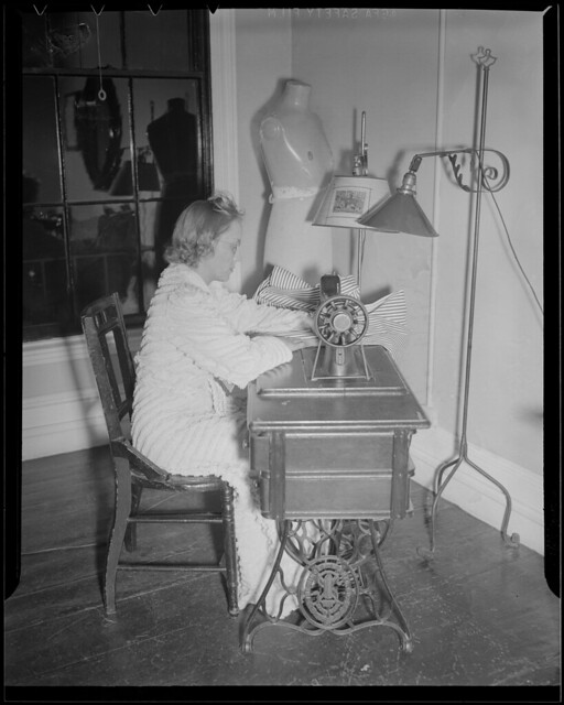 Sewing Room At The Franklin Square House Wwii Flickr Photo Sharing