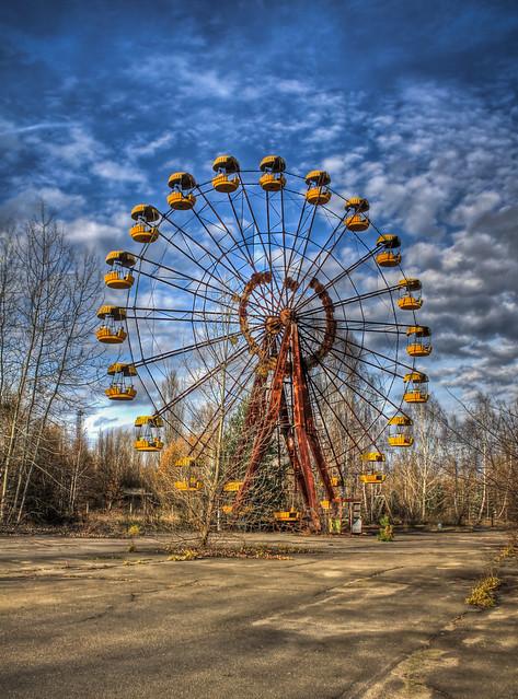 0353 - Ukraine, Pripyat, Ferris Wheel HDR