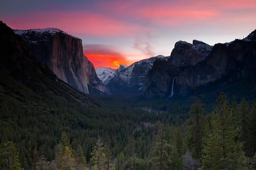Yosemite Valley Winter Sunrise