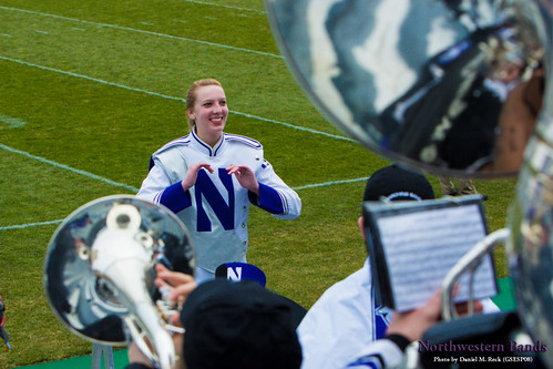 Drum Major Elisabeth Sladek (C16)