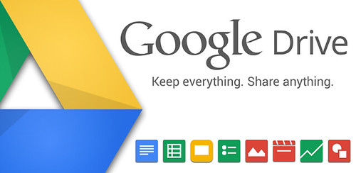 Store blogging materials in the cloud thanks to Google Drive