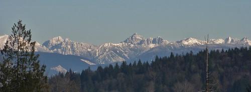 Cascade Mountains, Washington State.