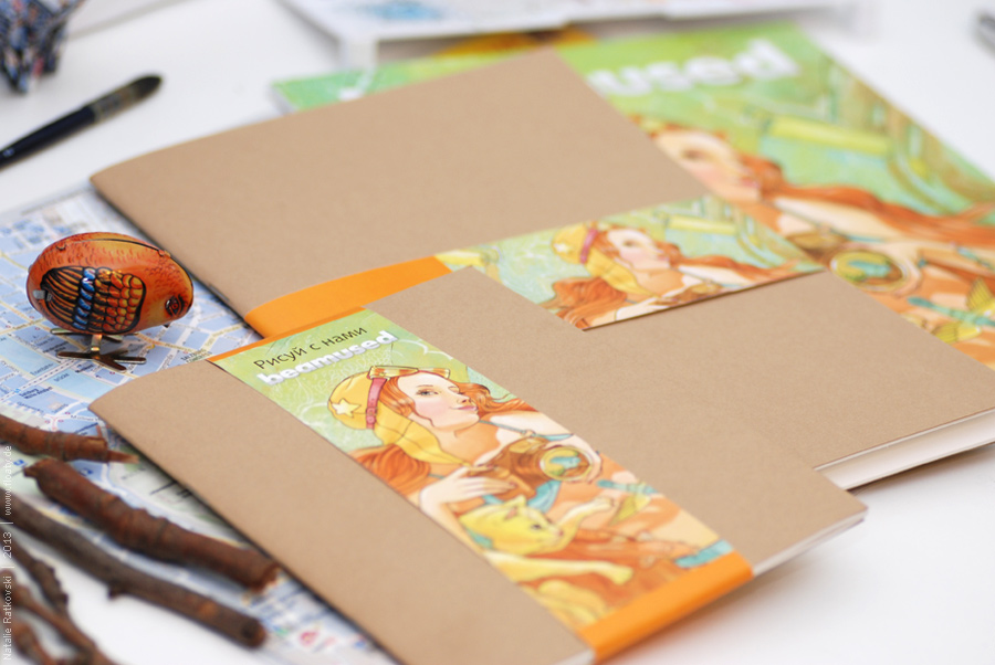 Sketchbooks with my design