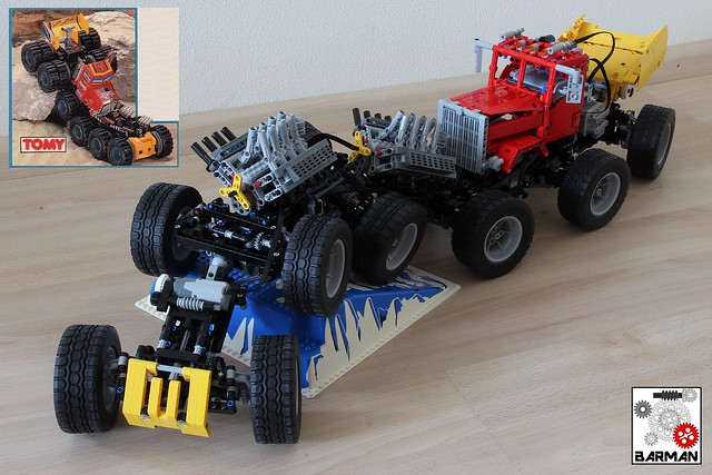 Mad Masher Monster Truck 12x12
