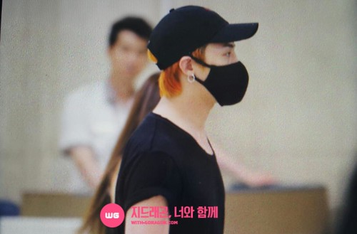 Big Bang - Gimpo Airport - 23aug2015 - With G-Dragon - 02