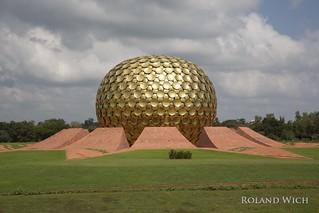 Auroville - Matri Mandir