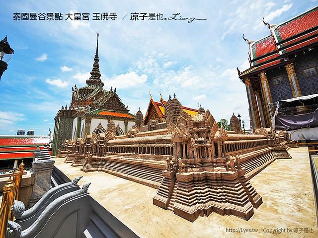 泰國曼谷景點 大皇宮 玉佛寺  56