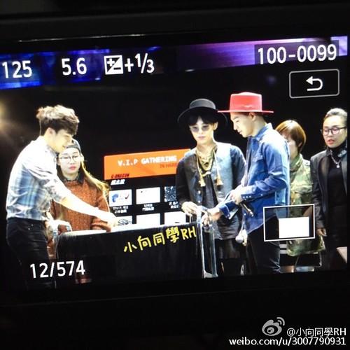 G-Dragon, Seung Ri & Tae Yang - V.I.P GATHERING in Harbin - 小向同學RH - 01
