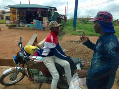 Okada and Fan Ice hawker, Owo, Ondo, Nigeria. #JujuFilms