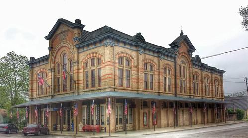 texas coloradocounty columbus us90 operahouse theater theatre staffordoperahouse bank nationalregister nationalregisterofhistoricplaces