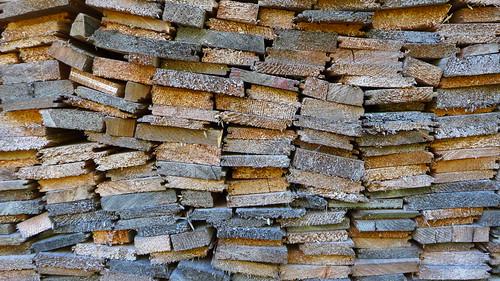 wooden tetris