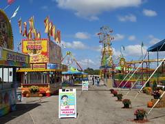 Walkway At The Cumberland County Fair.