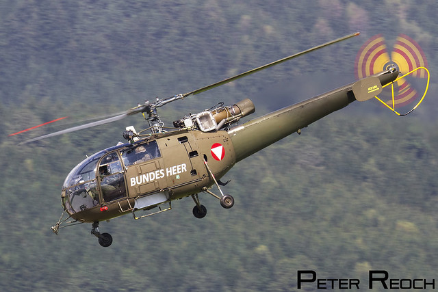 3E-KH / Austrian Air Force / SA-316B Alouette III