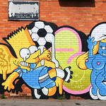 Bart street art Bushwick
