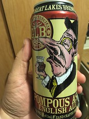 Beersperiment: Pompous Ass English Ale (Great Lakes Brewery): @halyma: 3*. Me: 2*