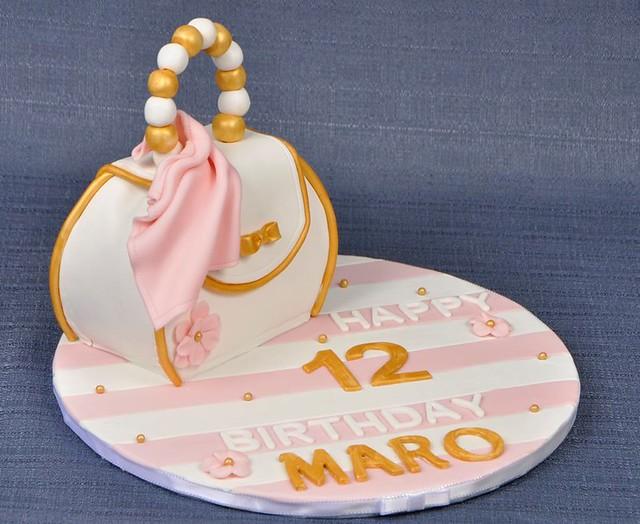 Handbag Cake by Leezoo Cakes
