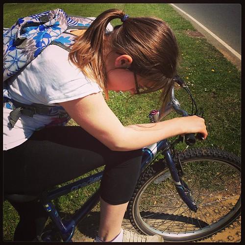 Maddy #cycling