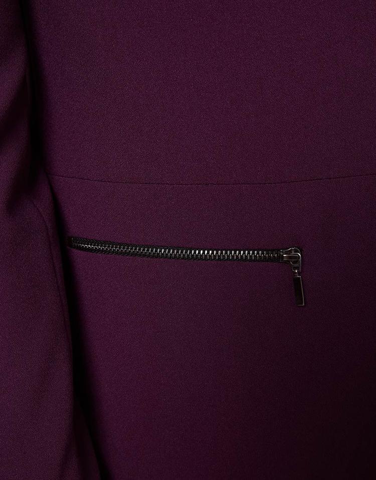 ASOS PETITE Exclusive Zip Pocket Notch Blazer