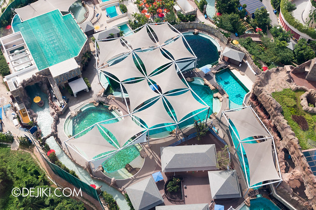 Marine Life Park Singapore - from the air May 2013 - Dolphin Island 4