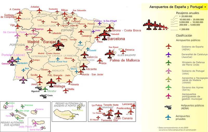 Mapas De Espanha Roteiros E Dicas De Viagem