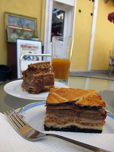 traditional jewish cake with 14 layers!