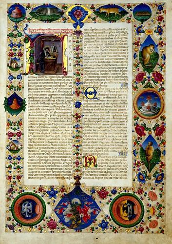 001-Bibbia di Borso d'Este-Vol 1- fol 5- Biblioteca Estense de Módena